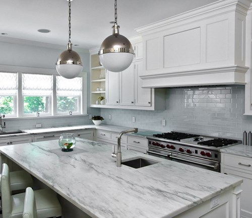 White Marble Is Beautiful, But Not Practical