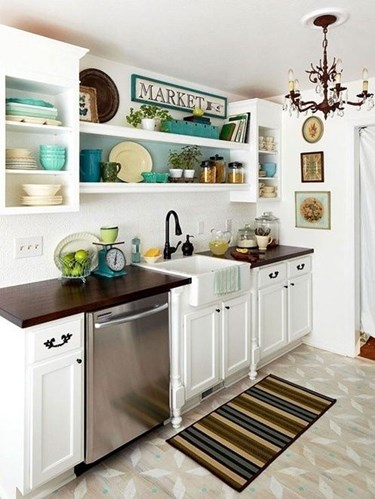Wonderful Open Shelving in the Kitchen - Yay or Nay? MD65