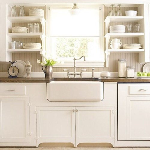 open shelving in the kitchen yay or nay - Open Shelves Kitchen
