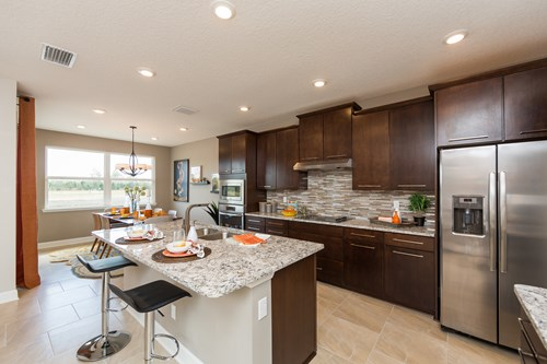 Willow Kitchen | Dostie Homes | Cedarbrook