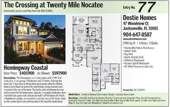The Crossing Model | Dostie Homes | Parade of Homes